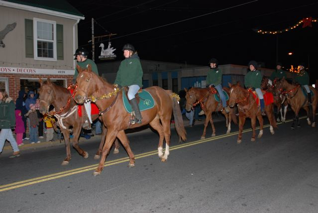 Old-Fashioned Christmas Parade in Chincoteague