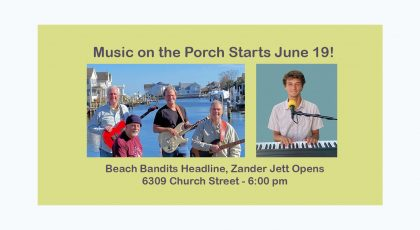 Music on the Porch June 19